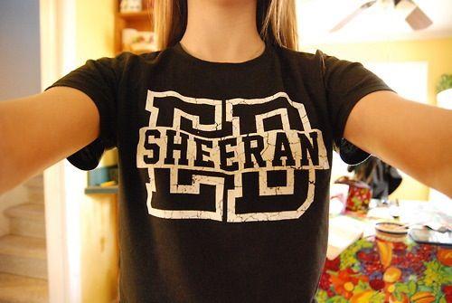 65856c4a05df Ed Sheeran shirt   Fandom Merch in 2019   Ed sheeran t shirt, Ed ...