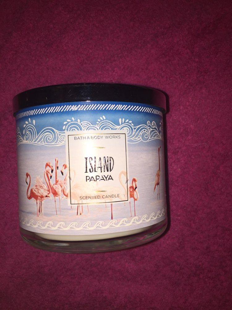 Island Papaya Candle : island, papaya, candle, Brand, Works, Candle, Scent, Island, Papaya, Happily, Bundle, Candles,