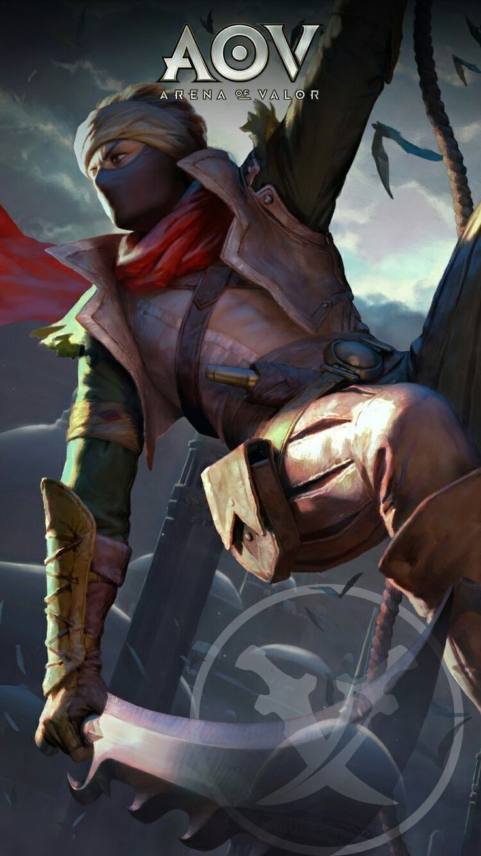 Murad Assassin Arena Of Valor Mobile Legends Character Wallpaper Garena Mobile Mobile