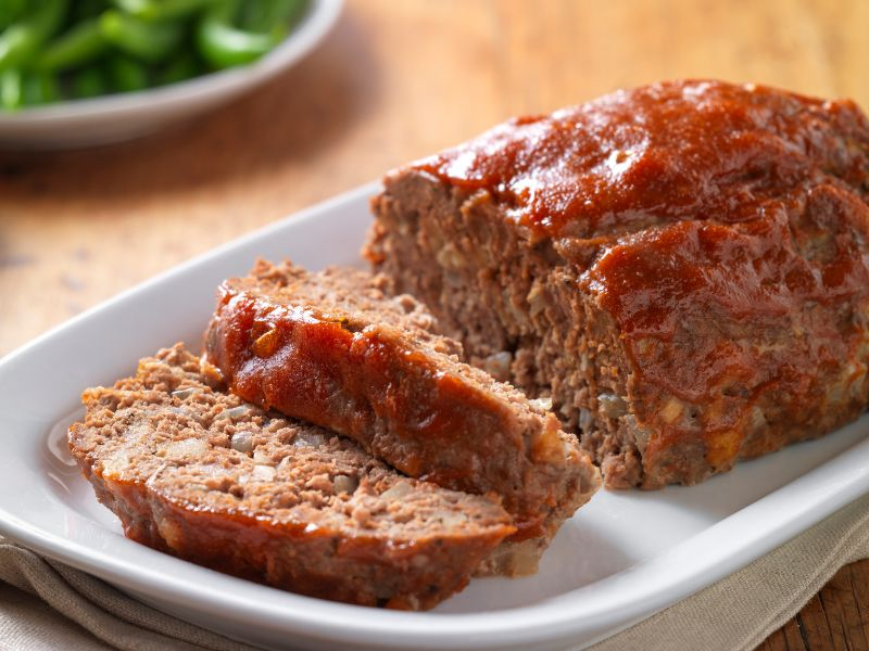 Classic Beef Meatloaf Recipe Classic Meatloaf Recipe Beef Meatloaf Ground Beef Meatloaf
