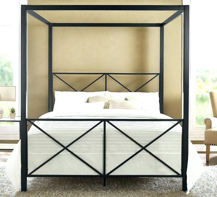 Modern Steel Bed Framemedium Size Of Canopy Beds King Size Metal Bed Frame Bedroom Modern Modern Metal Doubl Canopy Bed Frame Metal Canopy Bed Queen Canopy Bed