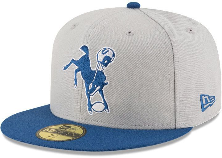 newest b8617 31ec9 New Era Indianapolis Colts Team Basic 59FIFTY Fitted Cap