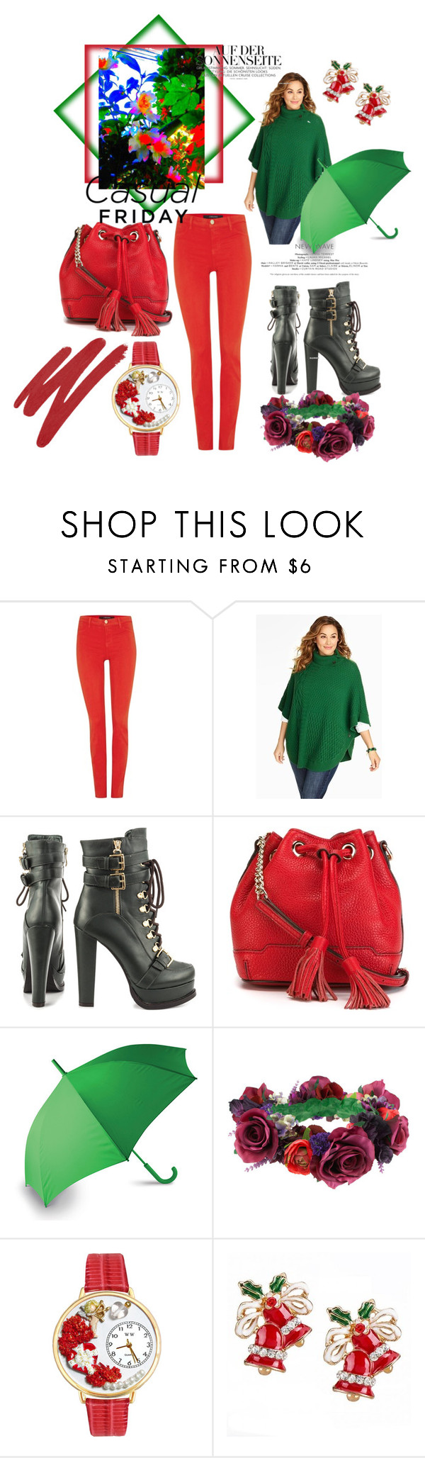 """""""casual"""" by lalle-mila ❤ liked on Polyvore featuring J Brand, Talbots, Luichiny, Rebecca Minkoff, LEXON, Rock 'N Rose, Whimsical Watches, NARS Cosmetics and plus size clothing"""