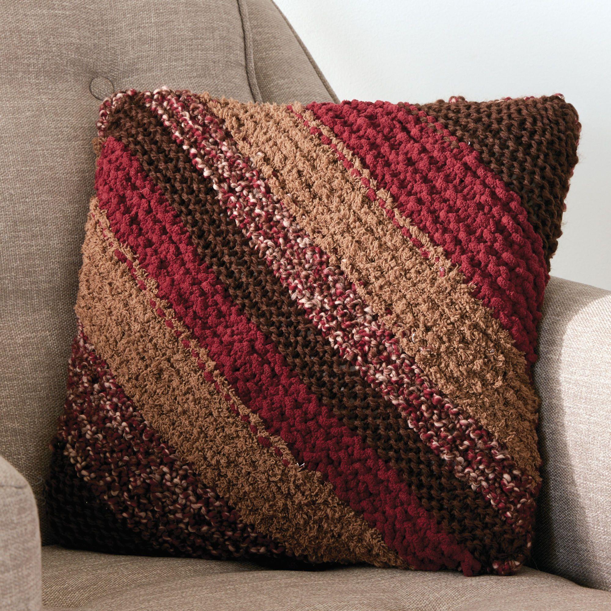 Bernat Corner to Corner Knit Pillow Pattern ...