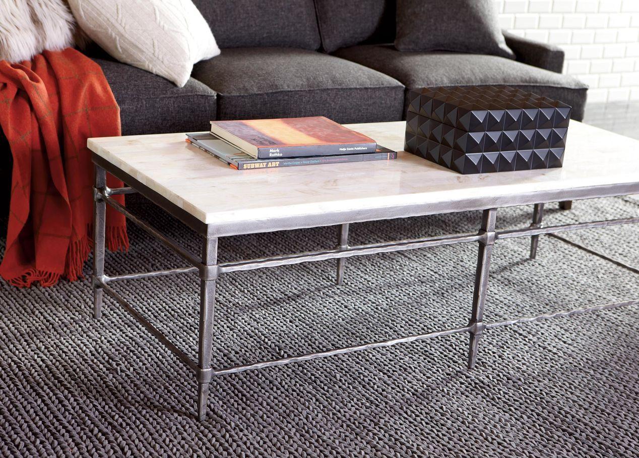 Vida Stone Top Coffee Table Decorating Coffee Tables Home Decor