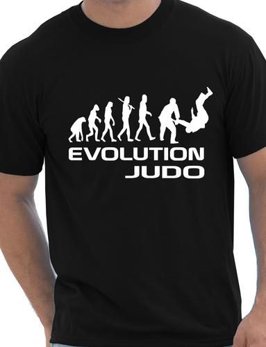 Evolution-Of-Judo-Martial-Arts-Funny-Adult-Mens-T-Shirt-Birthday-Gift-Size-S-XXL