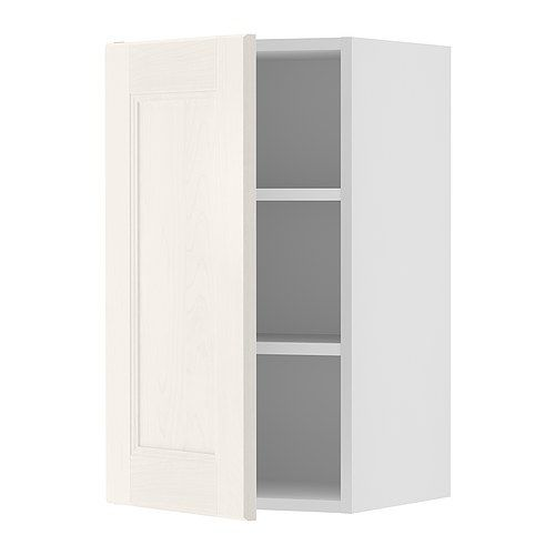 Bottom Wall Cabinets $104.00 AKURUM Wall cabinet - white, Ramsjö ...