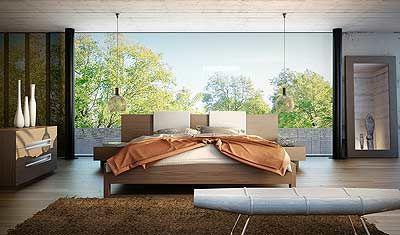 Monroe Platform Bed by Modloft