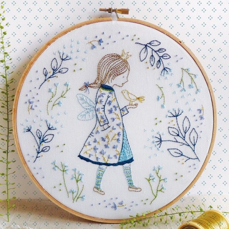 Winter Fairy Embroidery Kit £17.5 http://www.thehomemakery.co.uk ...