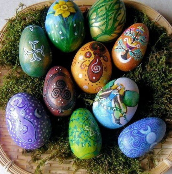 pagan easter | Perfectly pagan Easter eggs | Whimsy  Inspiration