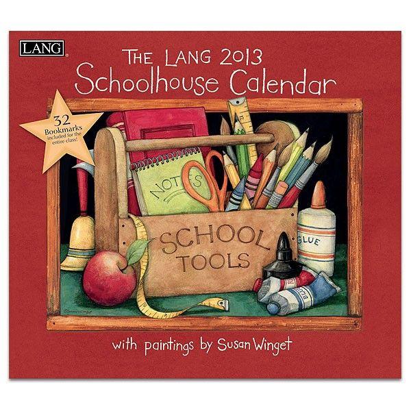 Schoolhouse  2013 Wall Calendar