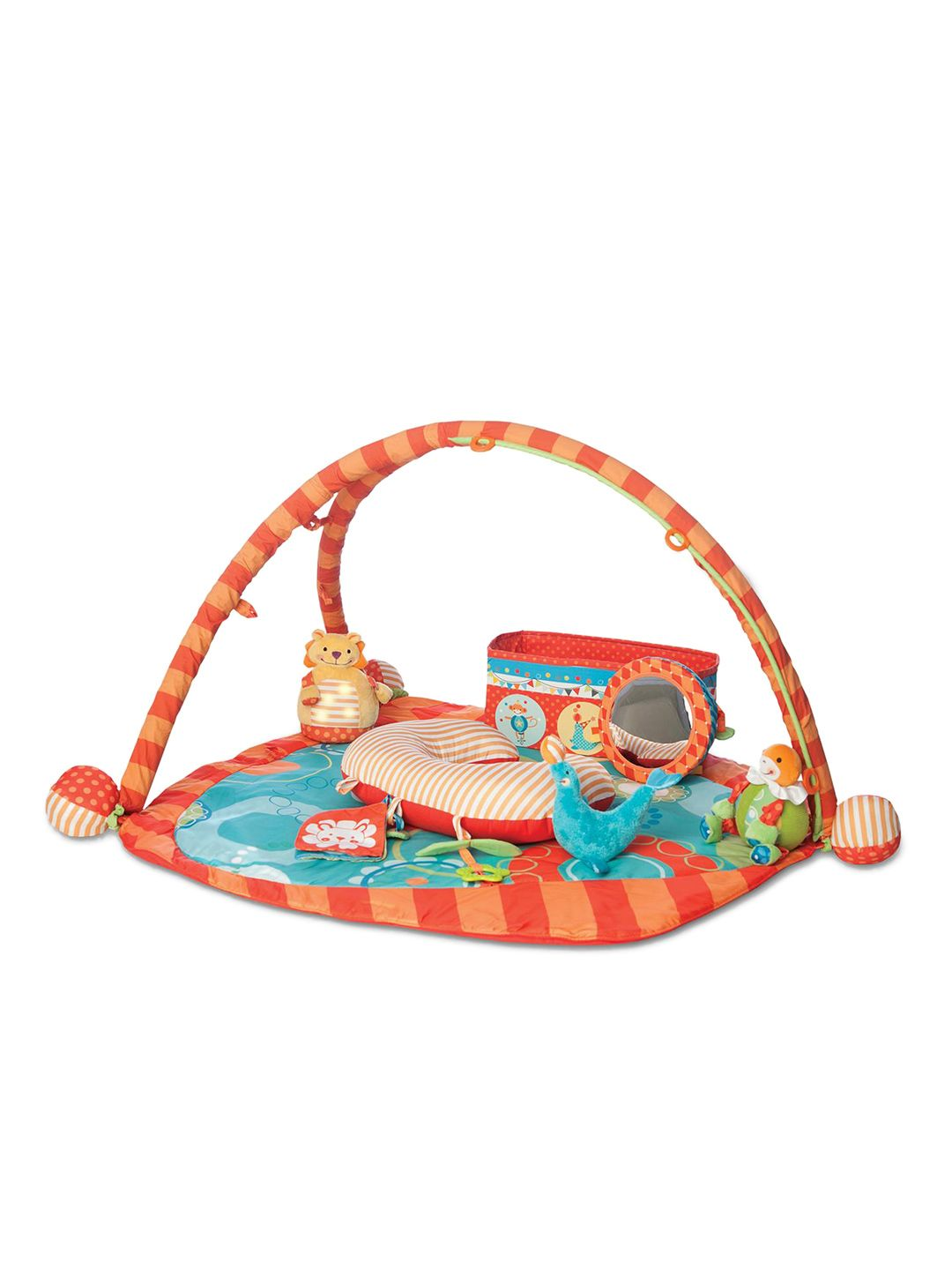 Creating The Perfect Play Area For Your Baby Is Easy With The Boppy Play Gym.  An Oversized Pad Provides Plenty Of Room For Playing, Stretching, ...