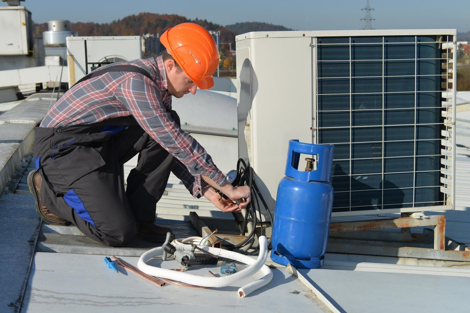 HVAC Testing and Commissioning Services Air conditioner
