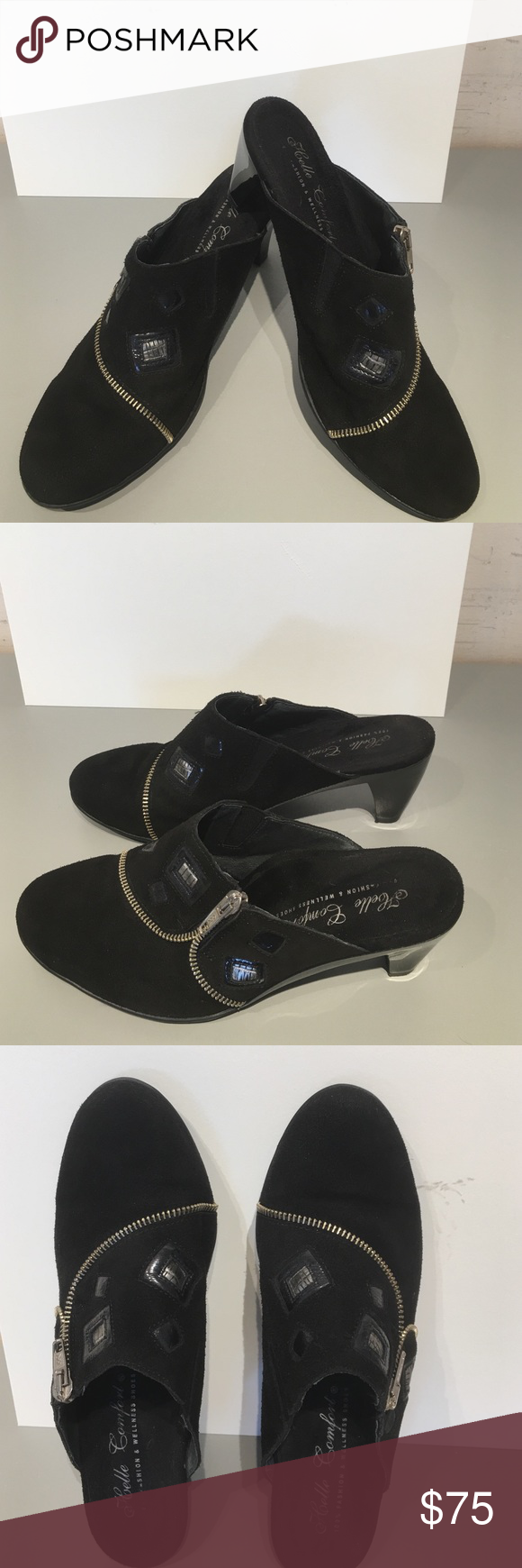 fashion shoes helle spain comfort comforter wellness mules pin