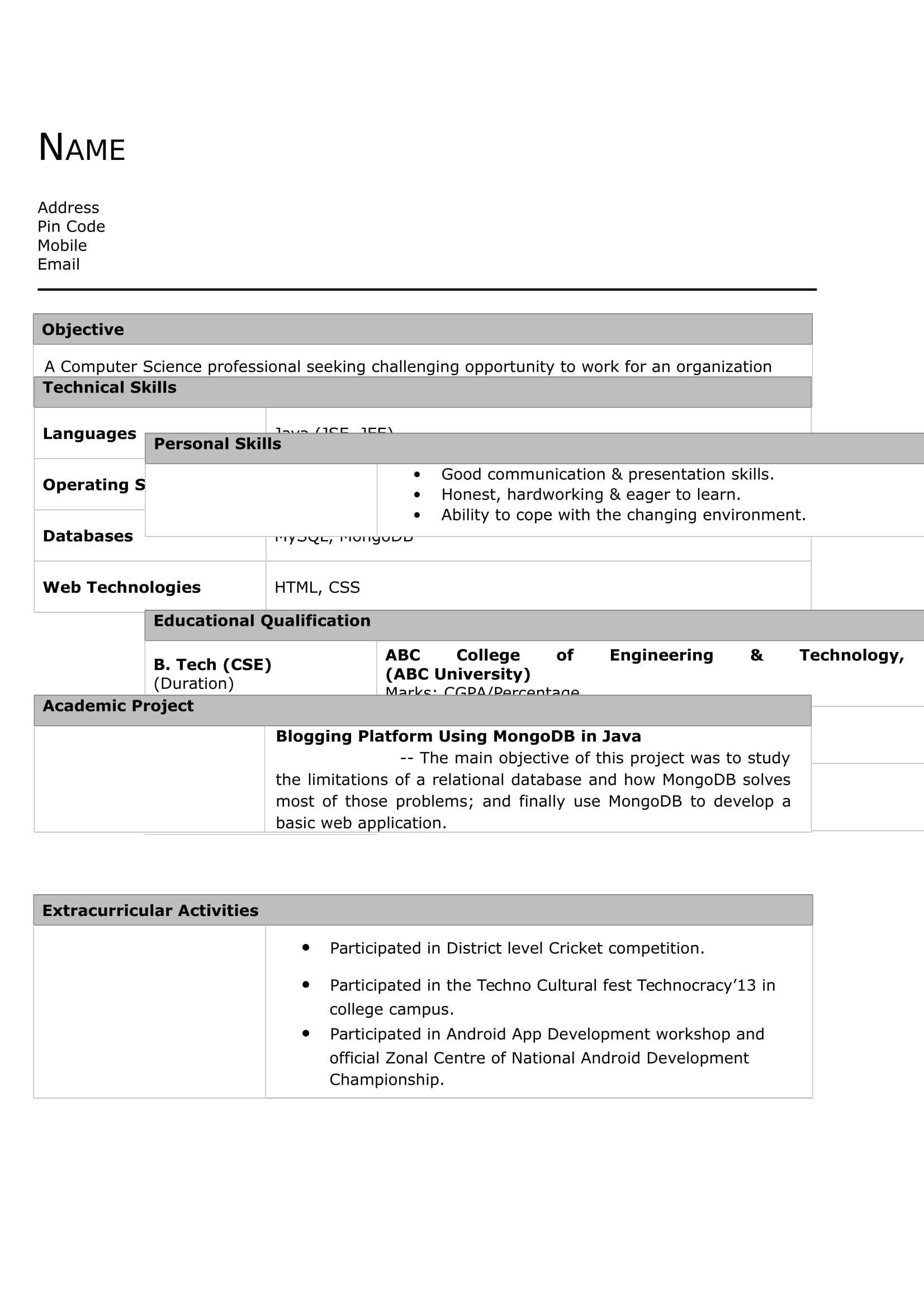Pin by Saif Khan on resume in 2020 Civil engineer resume