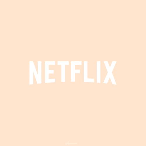 Netflix Icon Beige Hintergrund