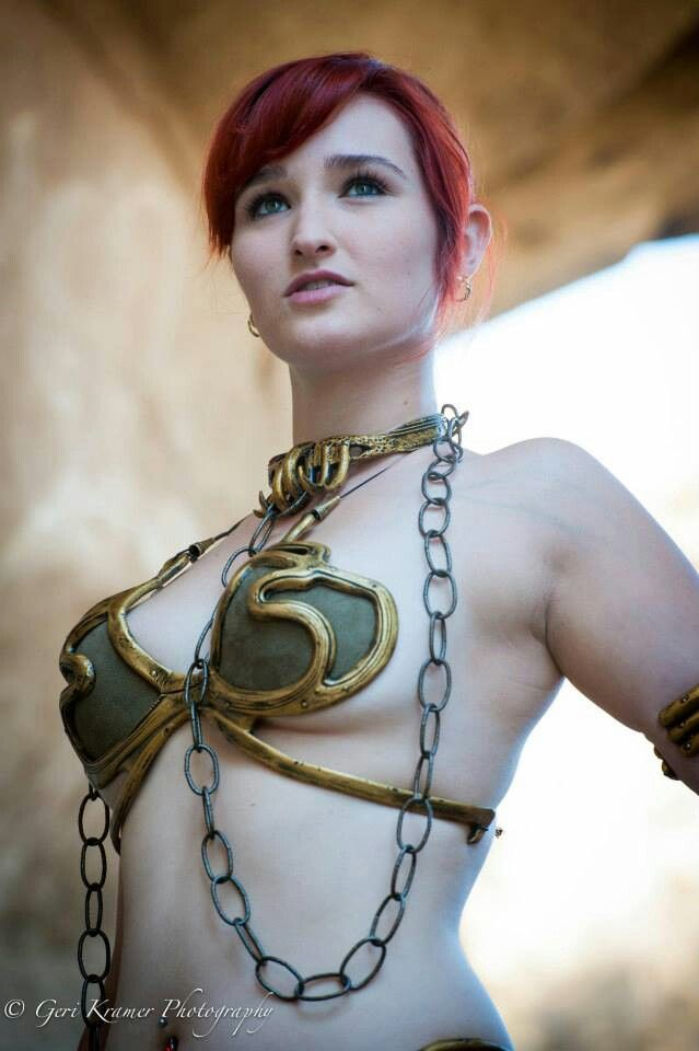 Pin on Slave leia cosplay