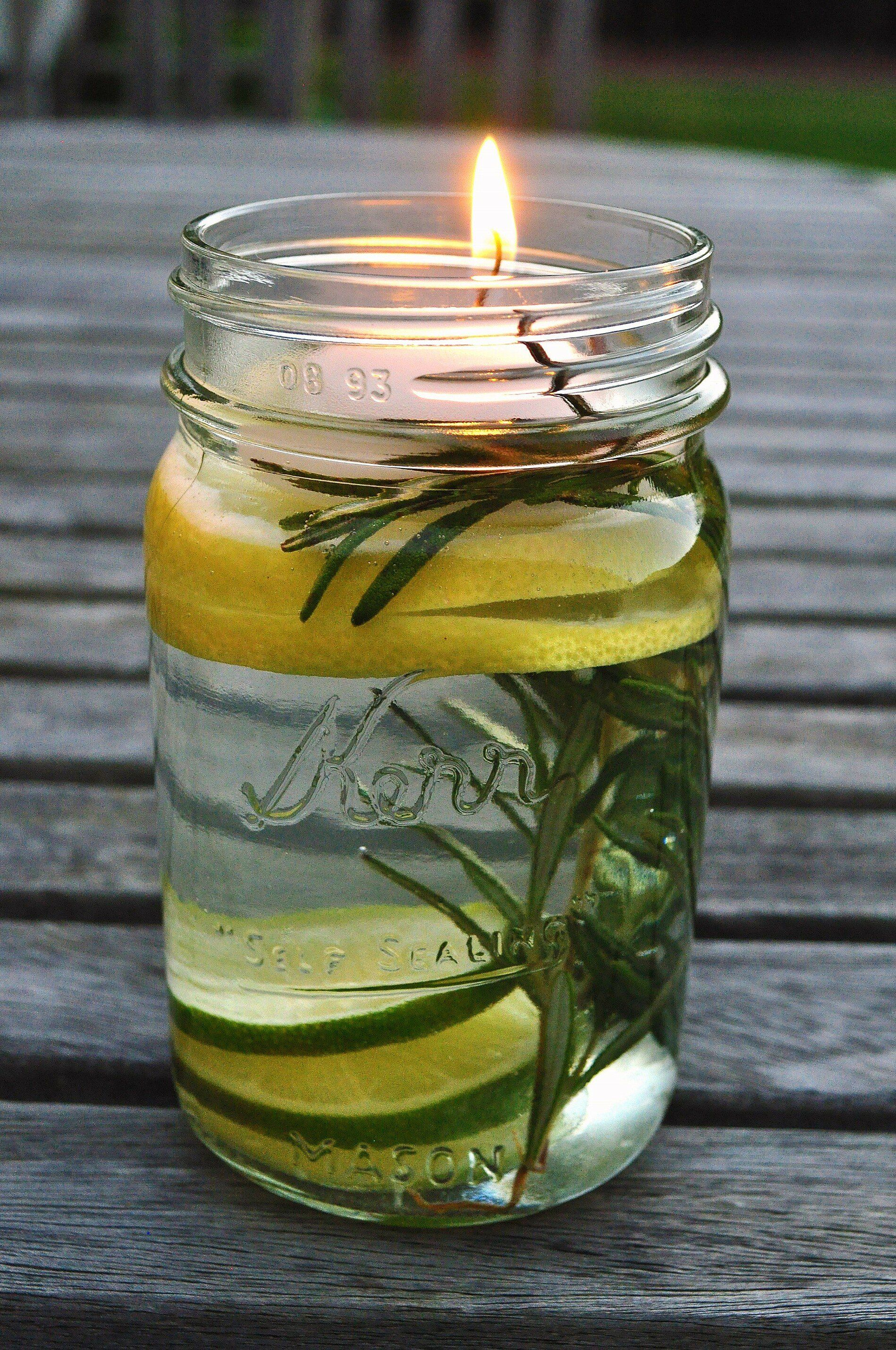 DIY Mosquito Repellent Candle Diy mosquito repellent