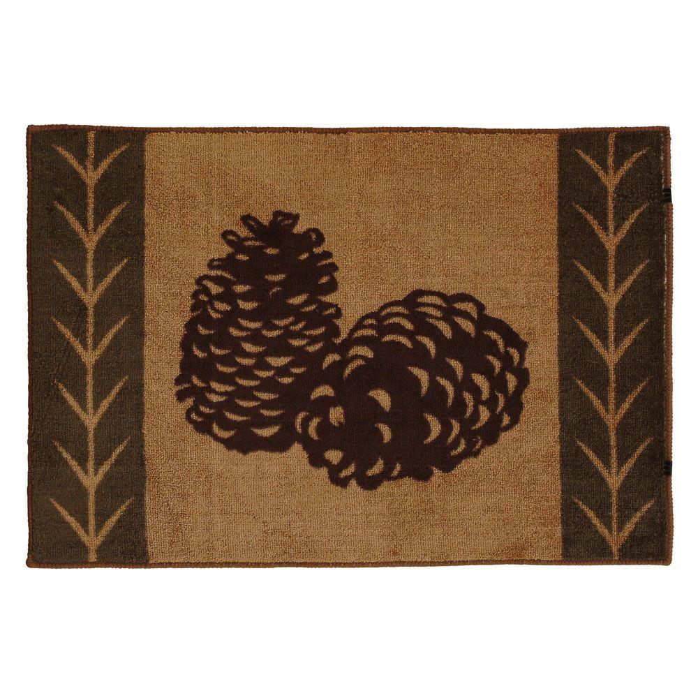 pinecone kitchen bath rug for the home pinterest bath rugs rh pinterest com