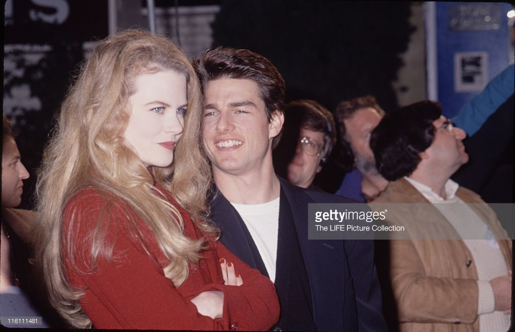 Actor Tom Cruise With His Wife Nicole Kidman Nicole Kidman Tom Cruise Actors