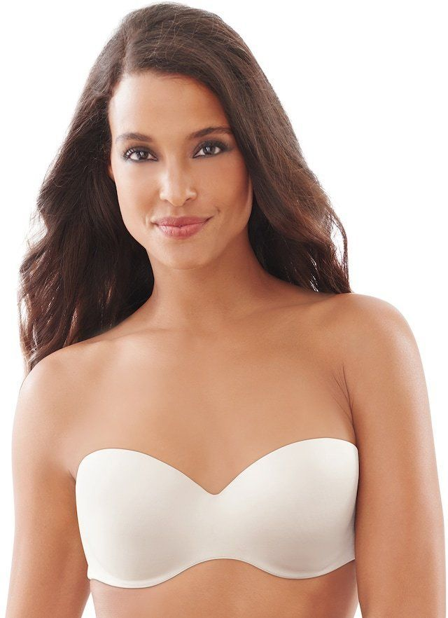 92b3010209 Lilyette Plus Size Bra  Defining Moments Full-Figure Strapless Bra 929 -  Women s