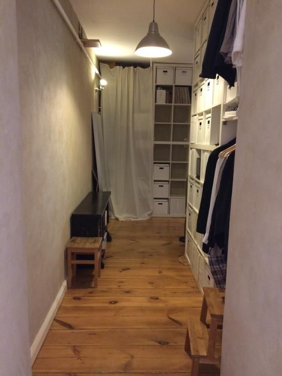 Eine spannende Idee den Flur zum begehbaren Kleiderschrank - flur idee