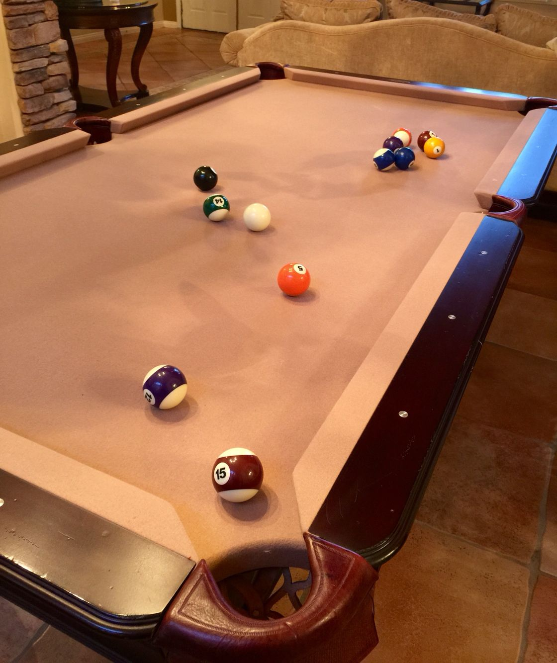 30th Anniversary Olhausen Pool Table