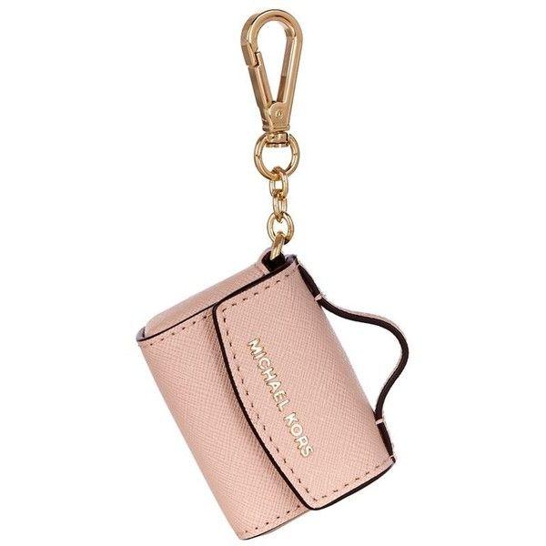 4c1efff1ae1414 MICHAEL Michael Kors Ava Key Chain ($64) ❤ liked on Polyvore featuring bags,  handbags, white bags, handbags purses, white hand bags, michael michael kors  ...