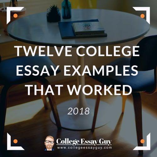 The Best Common App Essay Examples College essay