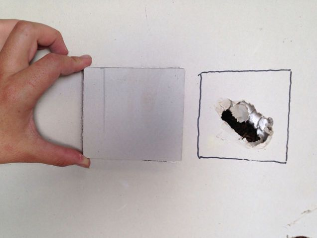 How to Patch a Hole in Drywall Drywall Patches and Clutter