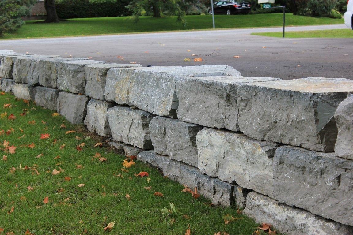 Armour Stone Retaining Wall Design