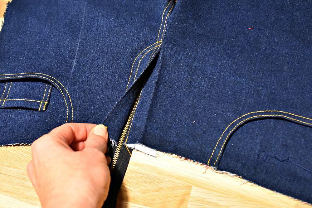 Hosenreißverschluss Reparieren