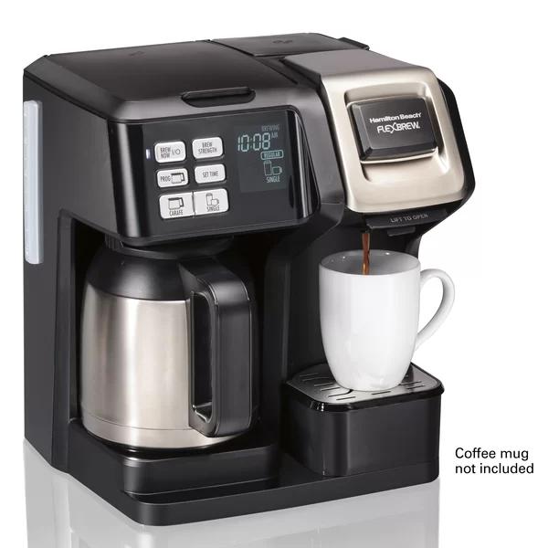 Hamilton Beach 10Cup FlexBrew Thermal Coffee Maker in