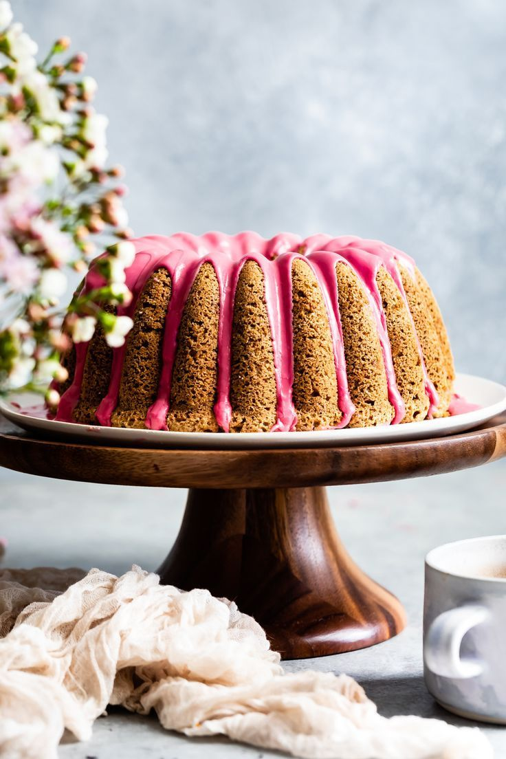 Earl Grey GlutenFree Bundt Cake with Blood Orange Icing This glutenfree bundt cake recipe is infused with earl grey tea and topped with bright pink blood orange icing The...