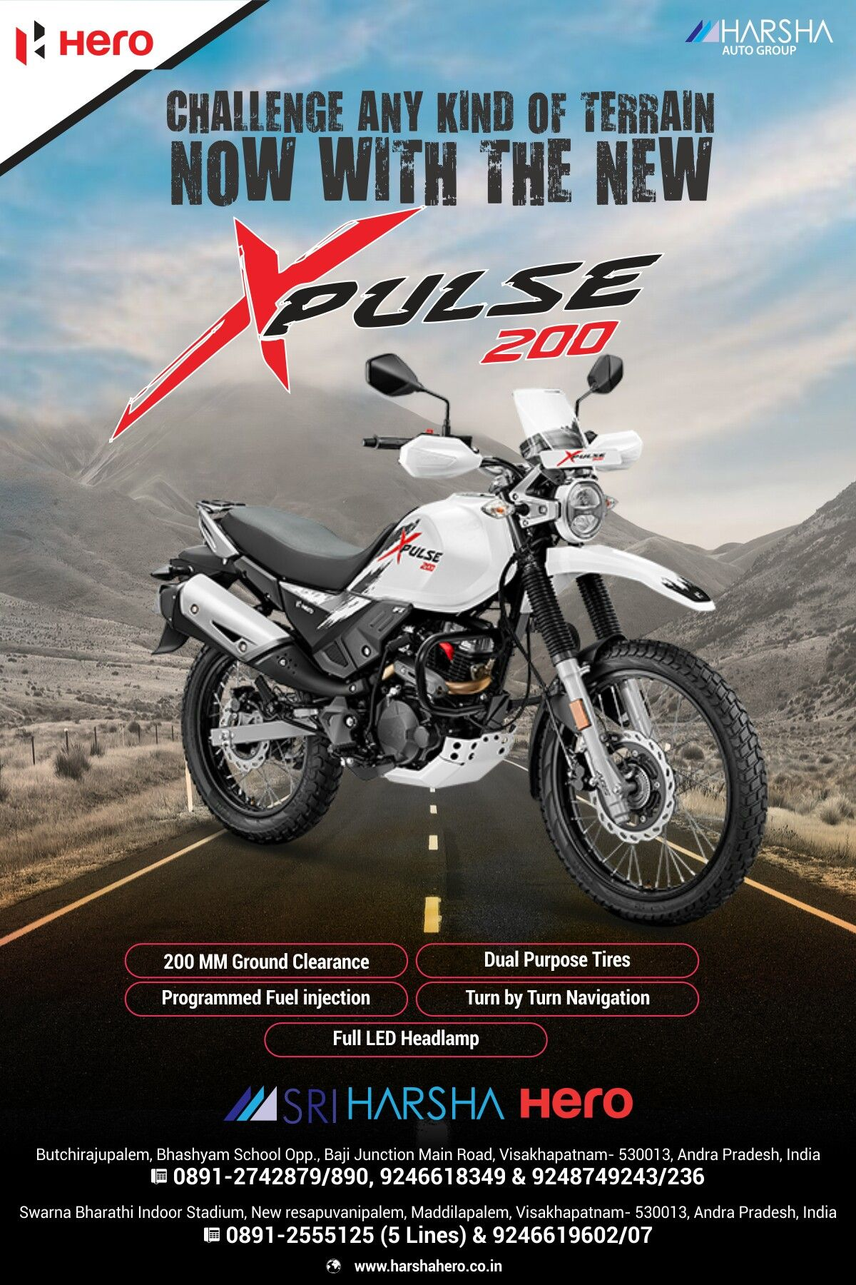 Challenge Any Kind Of Terrain Now With The New Hero Xpulse 200