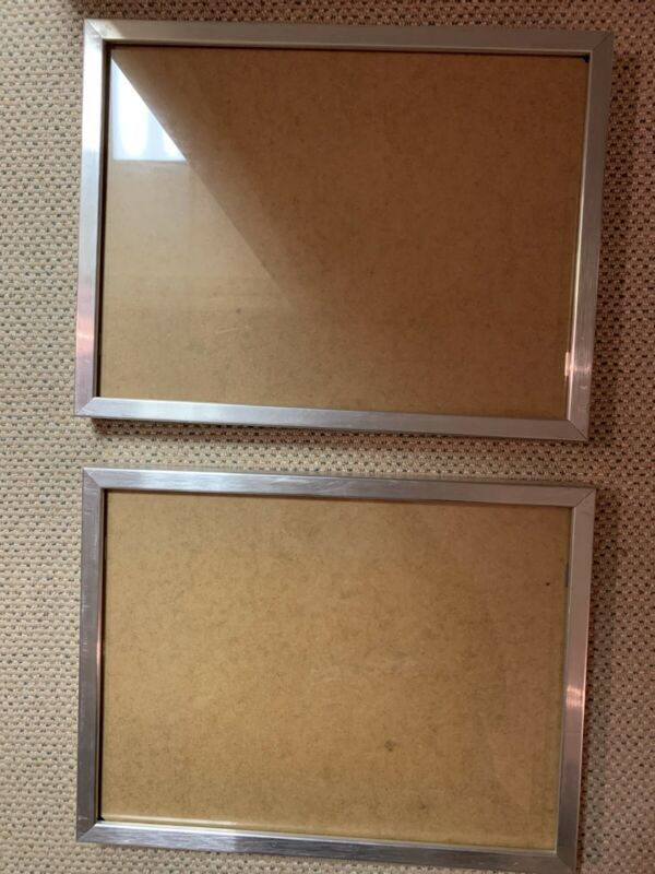 Ikea Frame Ribba Silver 15246 12 X 16 Lot Of Two Frames Ebay Link