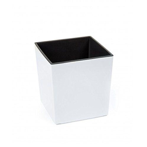 Design Blumenkübel / Pflanzkasten JUKA (Weiß, 40 x 40 x 40 cm ...