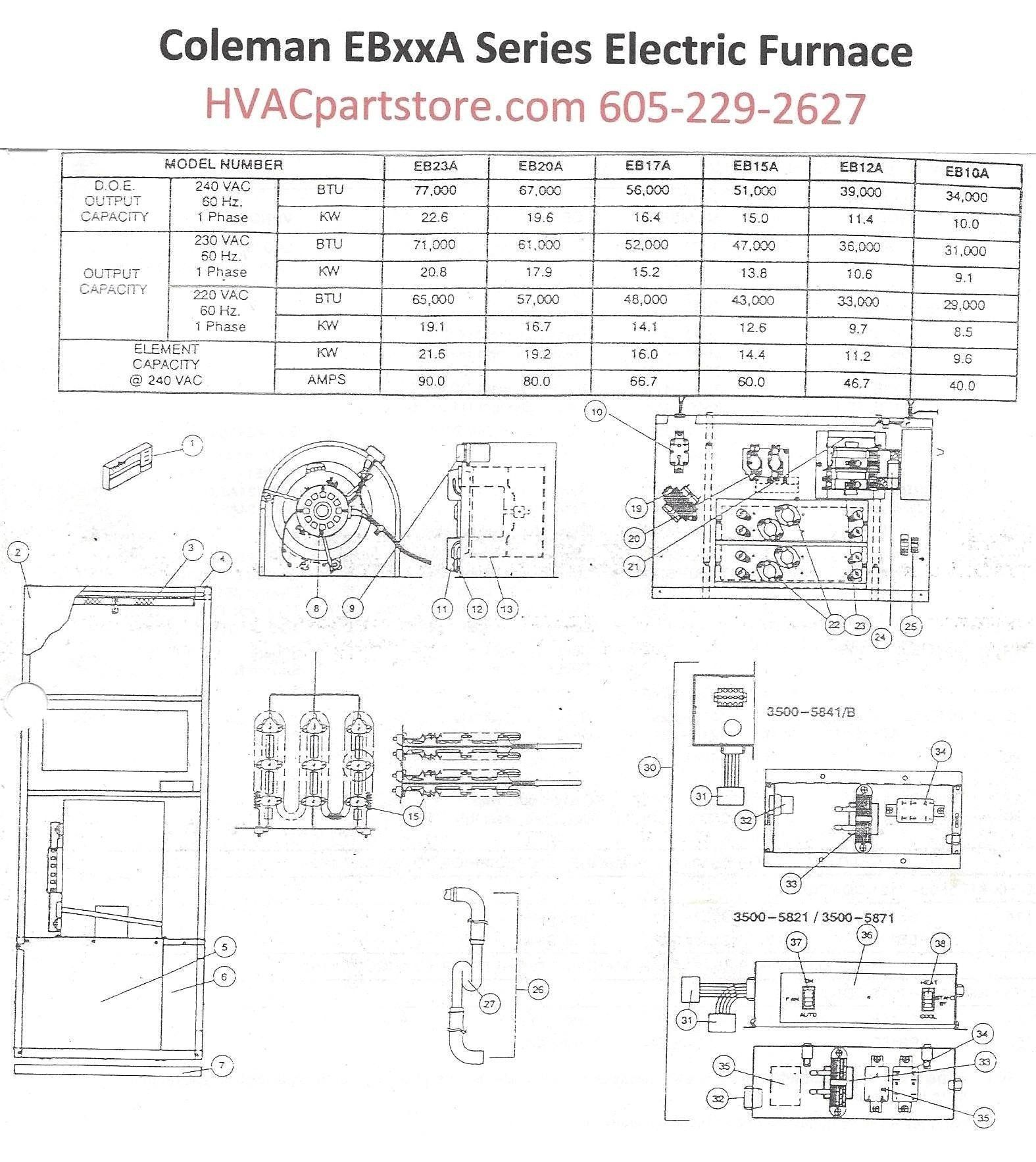 Coleman Air Conditioning Wiring Diagram