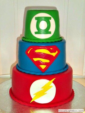 Fine Dc Comics Cake With Images Superhero Cake Flash Cake Green Funny Birthday Cards Online Kookostrdamsfinfo