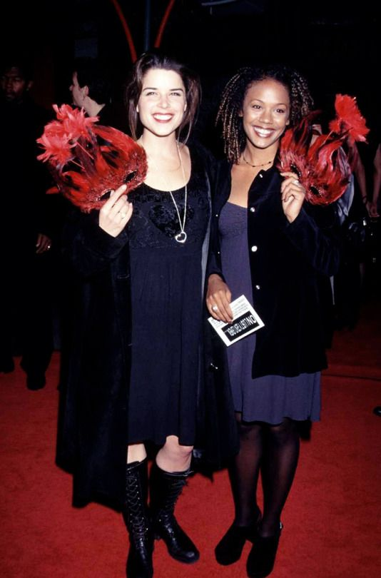 Neve Campbell and Rachel True, 1996