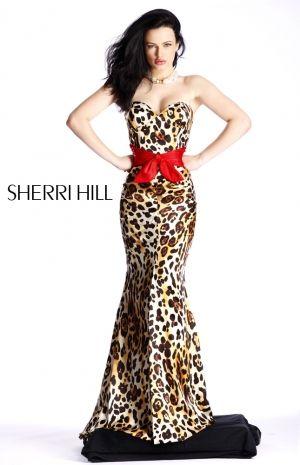 prom dress 2010 | Sherri Hill prom dresses 2010. Leopard print ...