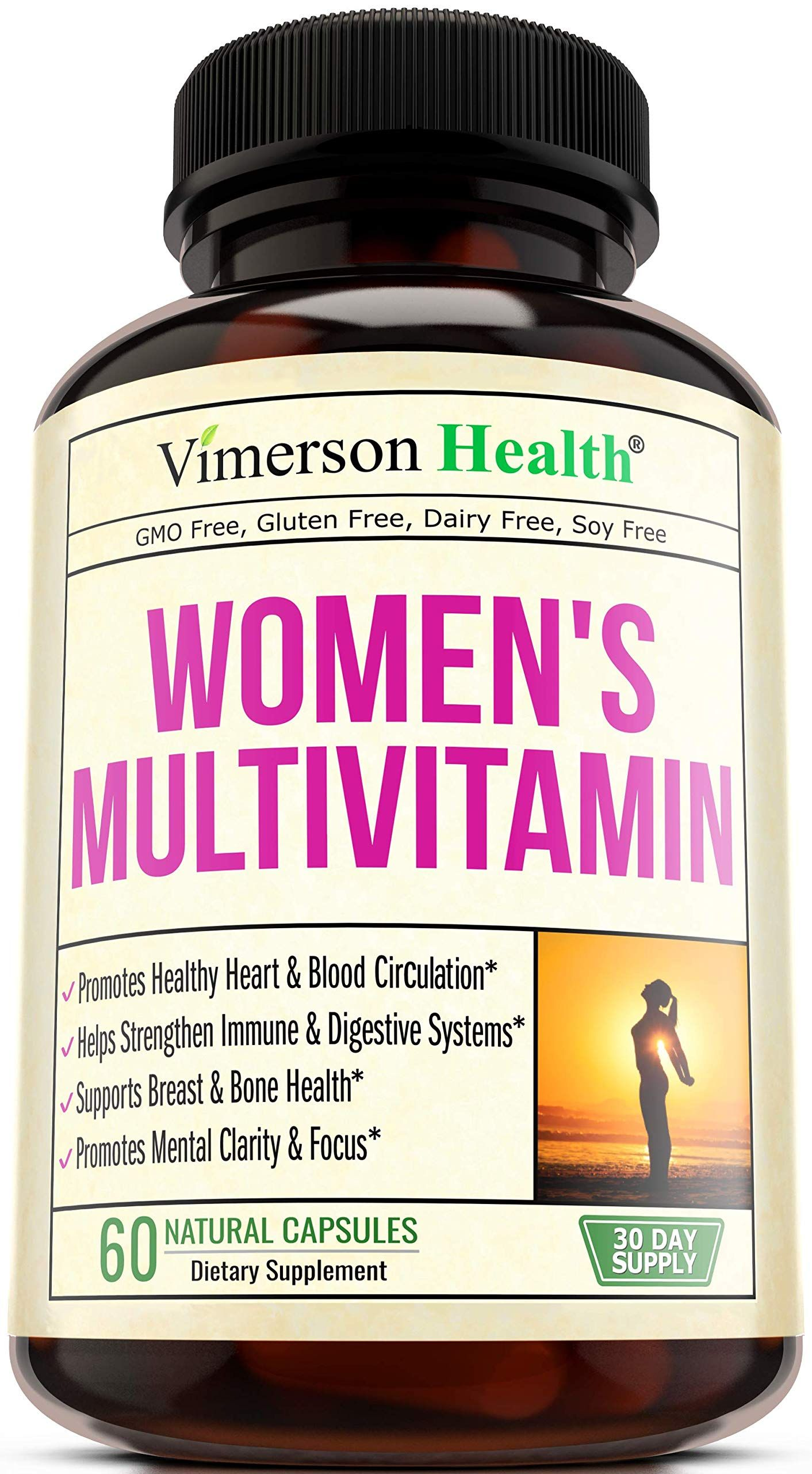 Women S Daily Multivitamin Multimineral Supplement