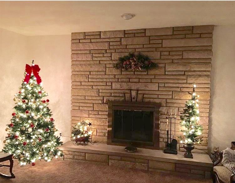 Another Idea For Fireplace Brick Wall, How To Decorate A Brick Fireplace Without Mantle