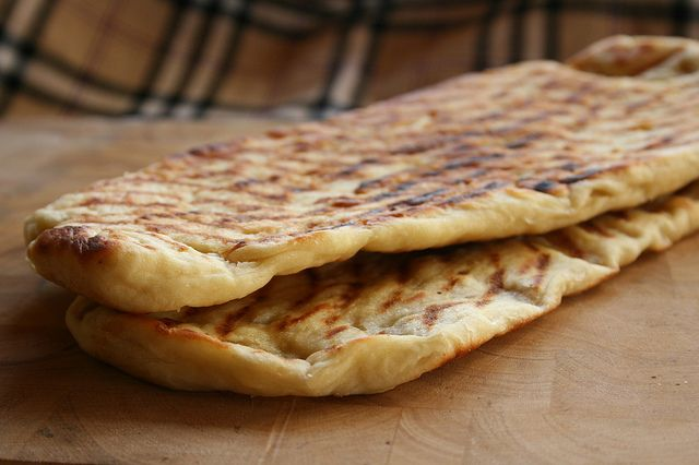 Naan brood by Es