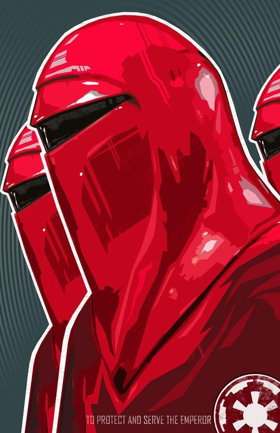 Star Wars Royal Guard Imperial Guard Star Wars By Bigbadrobot Star Wars Poster Star Wars Art Star Wars Fan Art