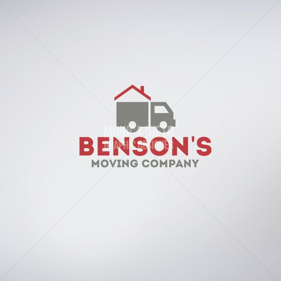 Custom Moving Company Logo & Business Cards/ Moving and Storage ...