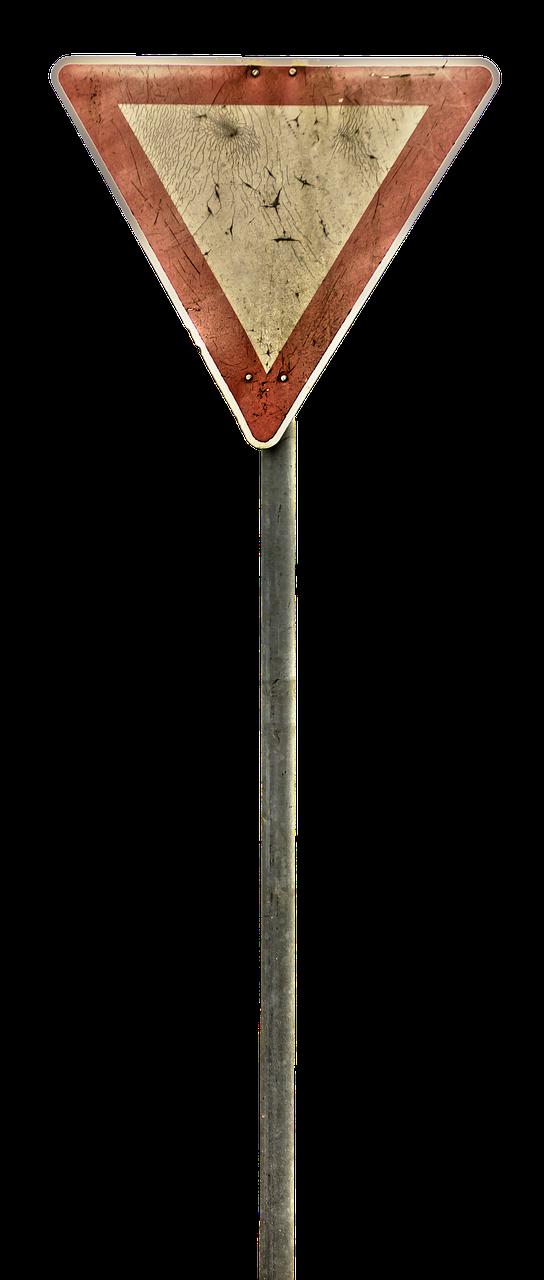 Free Image On Pixabay Yield Traffic Sign Warning Traffic Signs Traffic Metal Signs