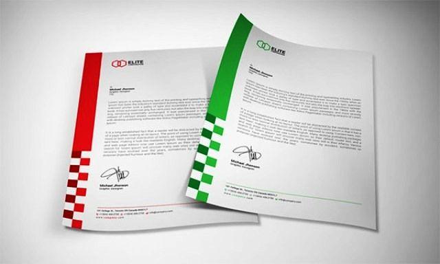 Desain Kop Surat Free Download Template Kop Surat Surat Desain