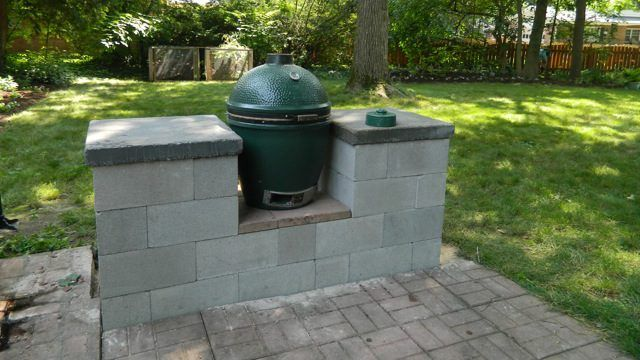 A step by step guide on how to build your own Big Green Egg ...