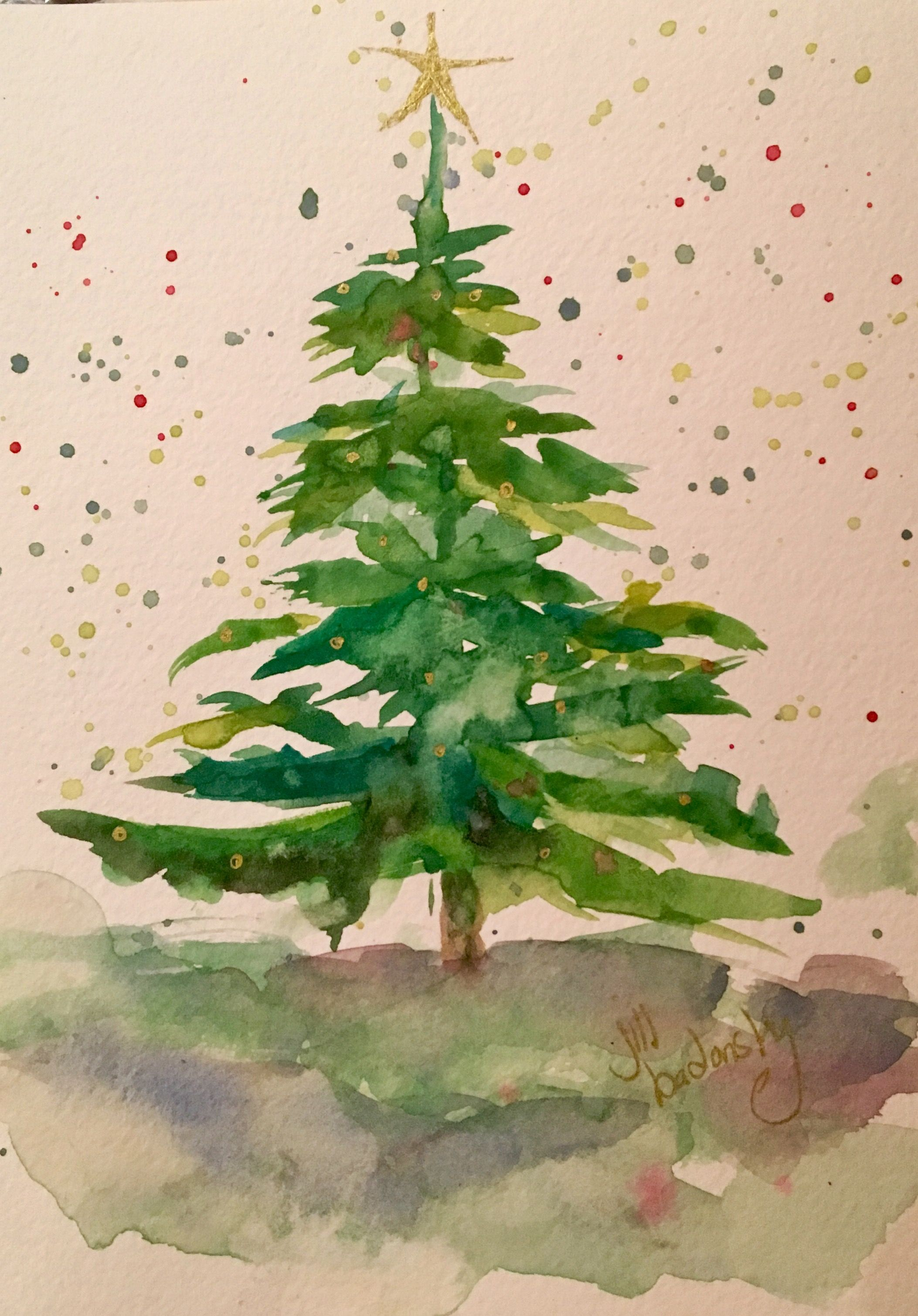 Christmas Watercolors Christmas Watercolor Watercolor Christmas